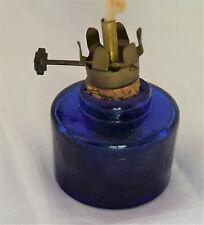 Ancienne petite Lampe à Pétrole Essence Travail artisanal  Art populaire