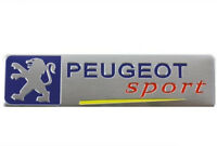 NEW PEUGEOT SPORT BOOT BADGE EMBLEM CAR METAL 206 306 307 407 406 106 107