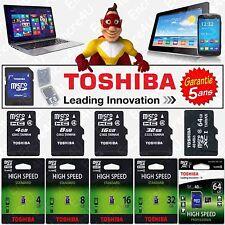 Carte Mémoire 2 4 8 16 32 64 GB GO TOSHIBA Micro SDHC SDXC pour téléphone Huawei
