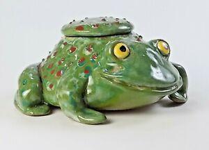 COLORADO RIVER TOAD- 4# - Hallucinogenic Toad Pot - Frog Face Jug
