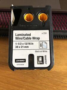 Dymo Xtl Laminated Cable Wrap Tape