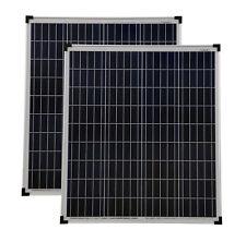 Solarmodul 2 Stück 80 Watt poly Solarpanel Solarmodul 80 W NEU TÜV Zertifikat