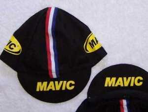 MAVIC Team Cycling Cap - Bike Hat - Black or Yellow Free Shiping !!