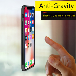 Anti Gravity Suction Sticky Selfie Phone Case For iPhone 13 12 11 Pro XS Max XR