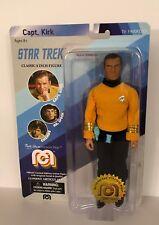 "Mego 1970's Star Trek Captain Kirk 8"" Action Figure sealed in 2018 Packaging"