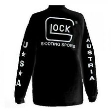 New Glock Apparel Sport T-shirt Long Sleeve Black XL Model# AP61605