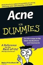 Acne For Dummies BOOK by HERBERT p. Goodheart MD. Latest medication treatments