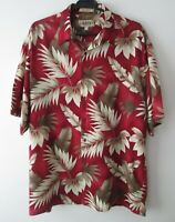 "Vintage Campia Moda Tropical Leaf Hawaiian Shirt 48""-122cm  L 1042H)"