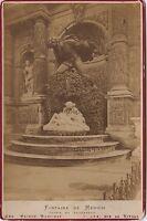 Fontana Medici L Amore di Acis E Galatea Parigi Vintage Albumina Ca 1880