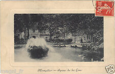 34 - cpa - MONTPELLIER - Square station (H9500)