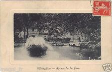 34 - cpa - MONTPELLIER - Square de la gare (H9500)