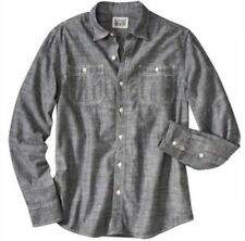 Converse One Star Chambray Linen Blend Long Sleeve Shirt Sz L Sold Out