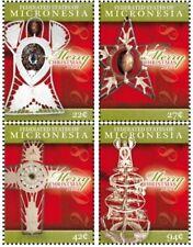 Micronesia - CHRISTMAS SET OF 4V - MNH