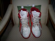 Reebok V61434 Kamikaze Ghost Of Christmas Past White Red Athletic Shoes Sz 12