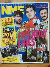 NME 07/05/2011 Friendly Fires cover, Poly Styrene obituary, Wild Beasts, Pulp