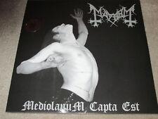 MAYHEM - MEDIOLANUM CAPTA EST - NEW - DOUBLE LP RECORD