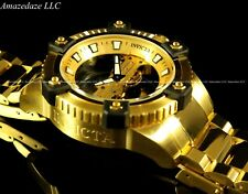 "Invicta Men Octane ""Arsenal Ghost Bridge"" LE Automatic Skeletonize 18K SS Watch"