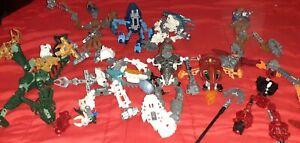 lego technic bionicle vari robot lotto diversi pezzi e robot