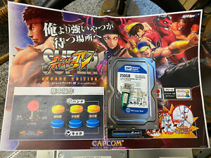 Taito Type X2 Street Fighter 4 Original Hdd +Usb Dongle Tested Jvs No Jamma Mame