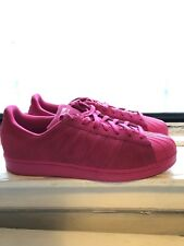 ADIDAS SUPERSTAR RT ROSE ALL PINK mens SUEDE SHELLTOES SHOES