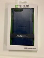 Apple iPhone 7 Plus iPhone 8 Plus Blue Trident New Aegis Series Case Free Ship