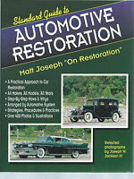 NK-018 - Standard Guide to Automotive Restoration, Matt Joseph, 400 Illustration