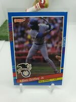 1991 Donruss Baseball Error Card Seattle Mariners Ken Griffey Jr.💎💎
