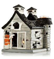 NEW - Bath & Body Works Haunted Barn Mini Candle Luminary Halloween 2013