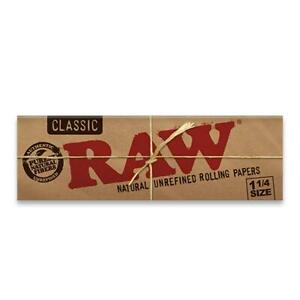 RAW Classic Papers Rolling 1 1/4 Papers