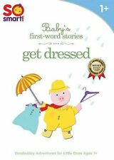 So Smart!: Baby's First-Word Stories - Get Dressed DVD NEW & SEALED, Free Ship!