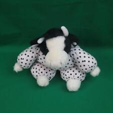 "Plush Polkadot Pajamas Cow Russ Bessie Lovey Toy Nr Stuffed Animal Farm Toy 12"""