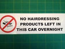 Nessun prodotti per parrucchiere sinistra in questa macchina una Notte-Divertente Adesivo
