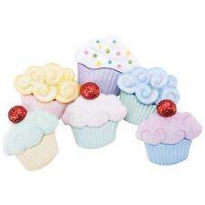 "Dress it Up ""Sweet Treats"" Buttons Cupcakes"