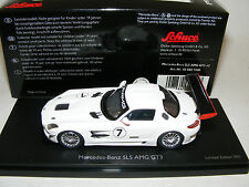 1/43 Schuco Mercedes Benz SLS AMG GT3 car #7 HAND BUILD Limited to 500 pieces