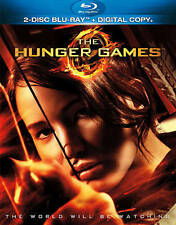 THE HUNGER GAMES 1 Original MOVIE on a 2-Disc BLU-RAY of Book JENNIFER LAWRENCE