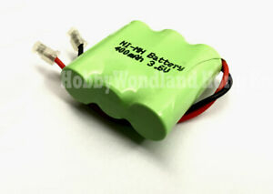 3.6V Home Phone Ni-MH AAA 2/3 400mAh 3-Cell Recharge Battery Pack Universal plug