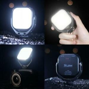 "VIJIM VL66 Vlog Fülllicht 360 ° drehbare LED Video 1/4 ""Schraube 2000mAh Batteri"