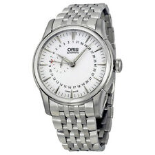 Oris Artelier Small Second Pointer Date Automatic Silver Dial Mens Watch