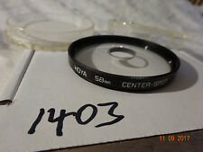 Hoya 58mm Centre Spot Screw-in Filter 58 mm CLEANED AND CHECKED QUALITY