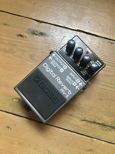 Boss RV5 Reverb. Great Sounding. Classic Pedal. Good Condition.