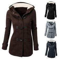 Blouson D'hiver Femmes Veste Manteau Parka Longue À Capuche De Survêtement Coat