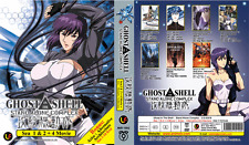ANIME DVD GHOST IN THE SHELL Stand Alone Complex Sea 1-2 + 4 Movie + Arise