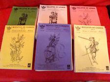 lot de 47 bulletins de liaison de la société d'Archéologie Militaire ( S.A.M )