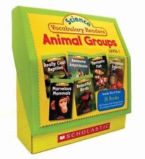 Science Vocabulary Readers Set: Animal Groups: Exciting Nonfiction Books That...