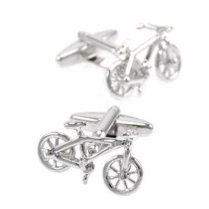 Tour De France Cycling Sports Cufflinks Cuff Bike Cycle Gift Yellow Jersey UK