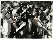 "1987 Walter Payton Chicago Bears Original 8x10 Wire Press Photo ""Final Season"""