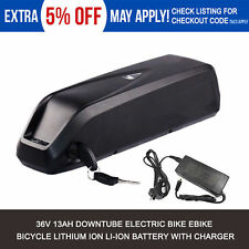 36V 13Ah 200W 250W 350W E-Bike Electric Bicycles Lithium Battery + Charger