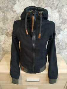 Naketano Women's   jacket black  Color size XS  hooded