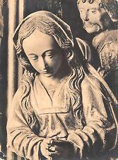 B97699 weinachten in der plastik heinrich douvermann postcard kleve   real photo