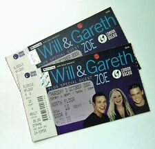 WILL YOUNG & GARETH GATES TICKETS - Ticket(s) London Arena 03/10/02 Memorabilia